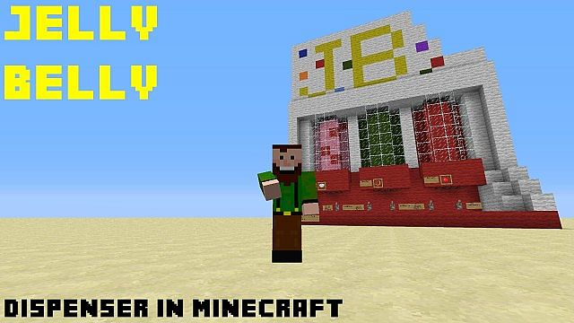 minecraft how to build a dispenser
