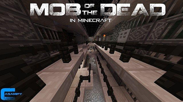Mob Of The Dead In Minecraft (remake) (1.5 Minigame