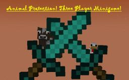 Animal Protection! Three Player Minigame! Minecraft Map & Project