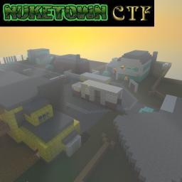 Nuketown CTF 100% vanilla MC Minecraft Map & Project