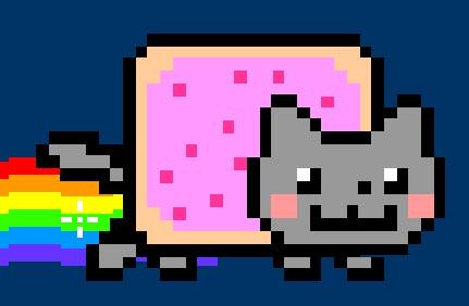 Dessin Post It Nyan Cats