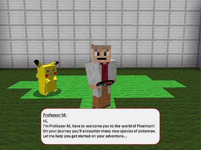 сервера с пиксельмон