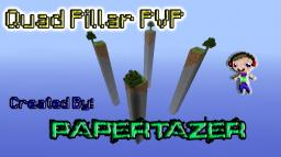 Quad Pillar PVP [4 players] Minecraft