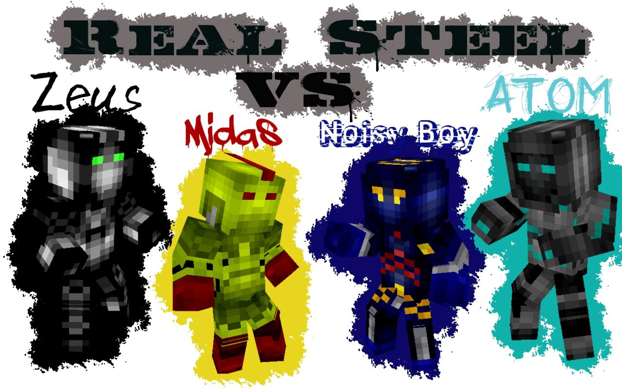 real steel fight wallpaper (15 subscribers special!) minecraft blog