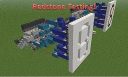 Redstone Testing Minecraft Map & Project
