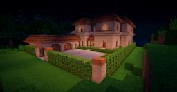 My first mansion Minecraft