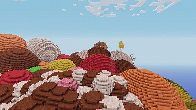 Candy Mountains and a Little Part of The Village