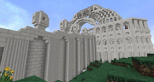 Albens The Quartz City Minecraft Project