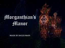 Morganthian's Manor - An Eerie House with Secret Rooms, Redstone, and much more! Minecraft Map & Project