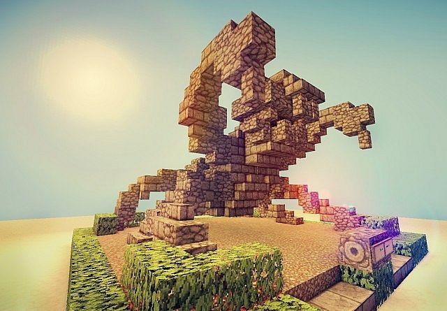 Spider Statue Minecraft Minecraft Statu...
