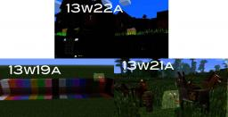 notice something strange on the update pictures? Minecraft Blog Post