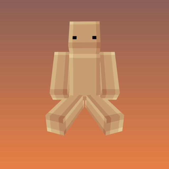 How to shade skins blocky style template included pop for Minecraft shade template