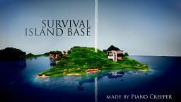 Modern Survival Island Base - PMC Server Minecraft Map & Project