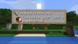 Tweaked Chocolate: Customizable better vanilla w/ classic textures, animated textures, custom lighting & more Minecraft Texture Pack