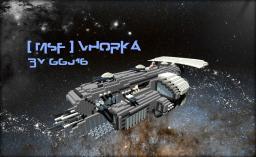 [ MSF] Vhorka Class Corvette Minecraft