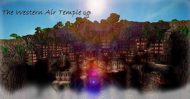 The western air temple minecraft project gumiabroncs Gallery