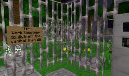 Cannibal Escape Mini-game 1.0 Minecraft