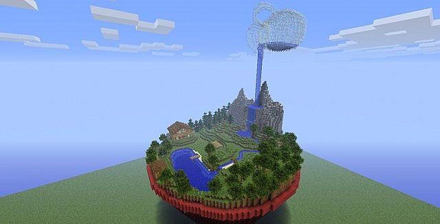 flowerpot world minecraft map
