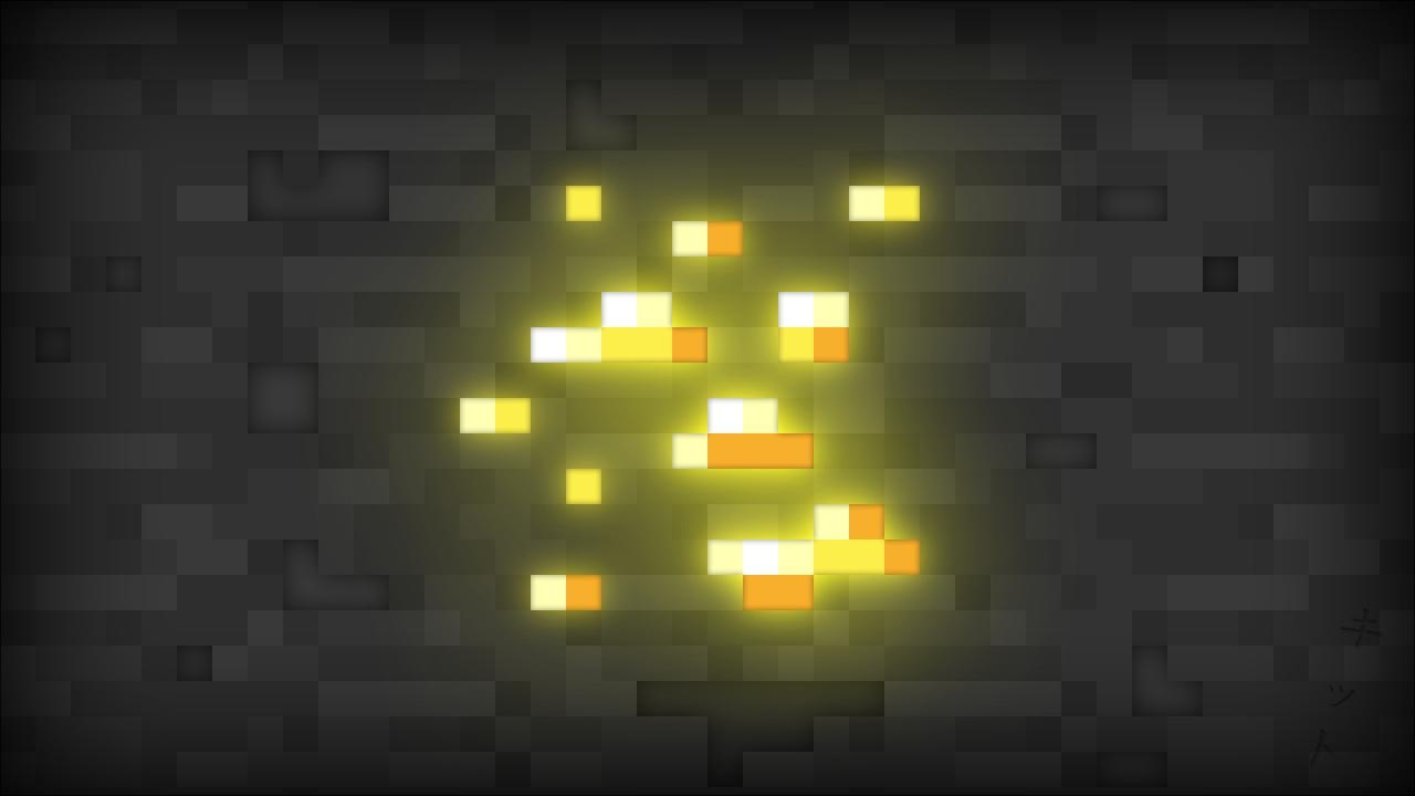 Gold Minecraft Wallpaper HD  Wallpapers Every Day