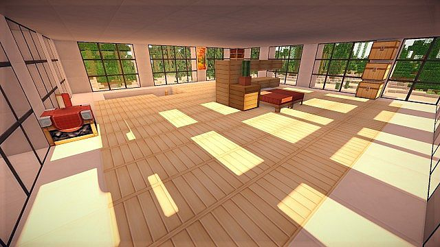 16x16 Modern House 50 Subscriber Special Minecraft Project