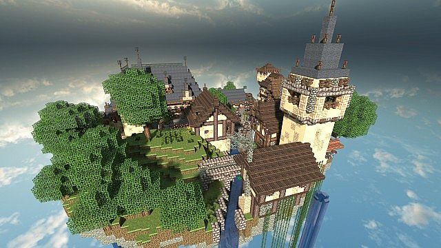 SquareOne Skyblock Server Spawn Minecraft Project