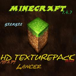 Big Realistic 1.4.7 HD 512x512 By Lancer Minecraft Texture Pack