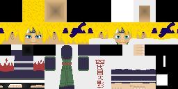 [HD skin] Minato Namikaze (from Nauto Anime) !!!UPDATE!!! Minecraft