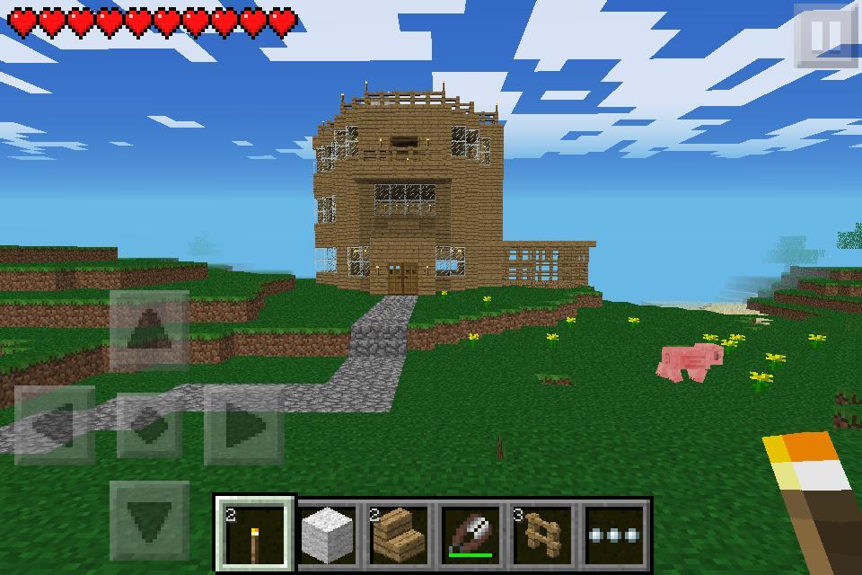 Minecraft Pe Small Mansion Minecraft Project