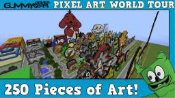 Mega Pixel Art Map Over 250 Pixel Art! Version 1.0