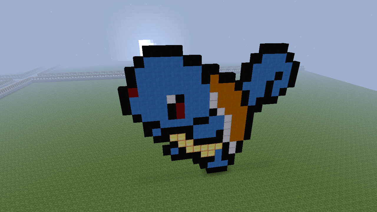 Squirtle Pokemon Minecraft Project