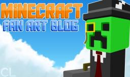 MC Art: Angry Ghast Minecraft Blog Post