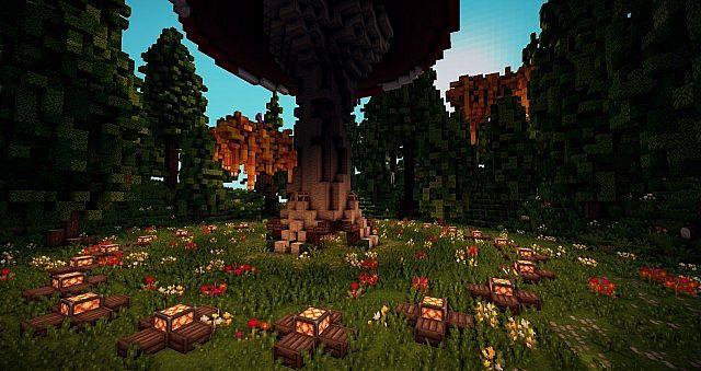 Скачать Карту для Майнкрафт The Forest