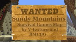 Sandy Mountains Survival Games Map by v-texture and BMCBG Minecraft