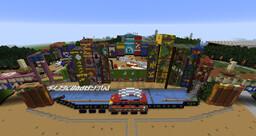 Tomorrowland Festival Belgium 2012 Minecraft Map & Project