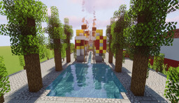Novus Oppidum [1.14] [Roman City] Minecraft Map & Project