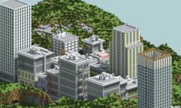 Greenfield City - 1950 [DOWNLOAD] Minecraft Map & Project