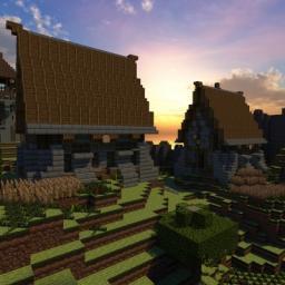 ville médiévale (Medieval Town) Minecraft