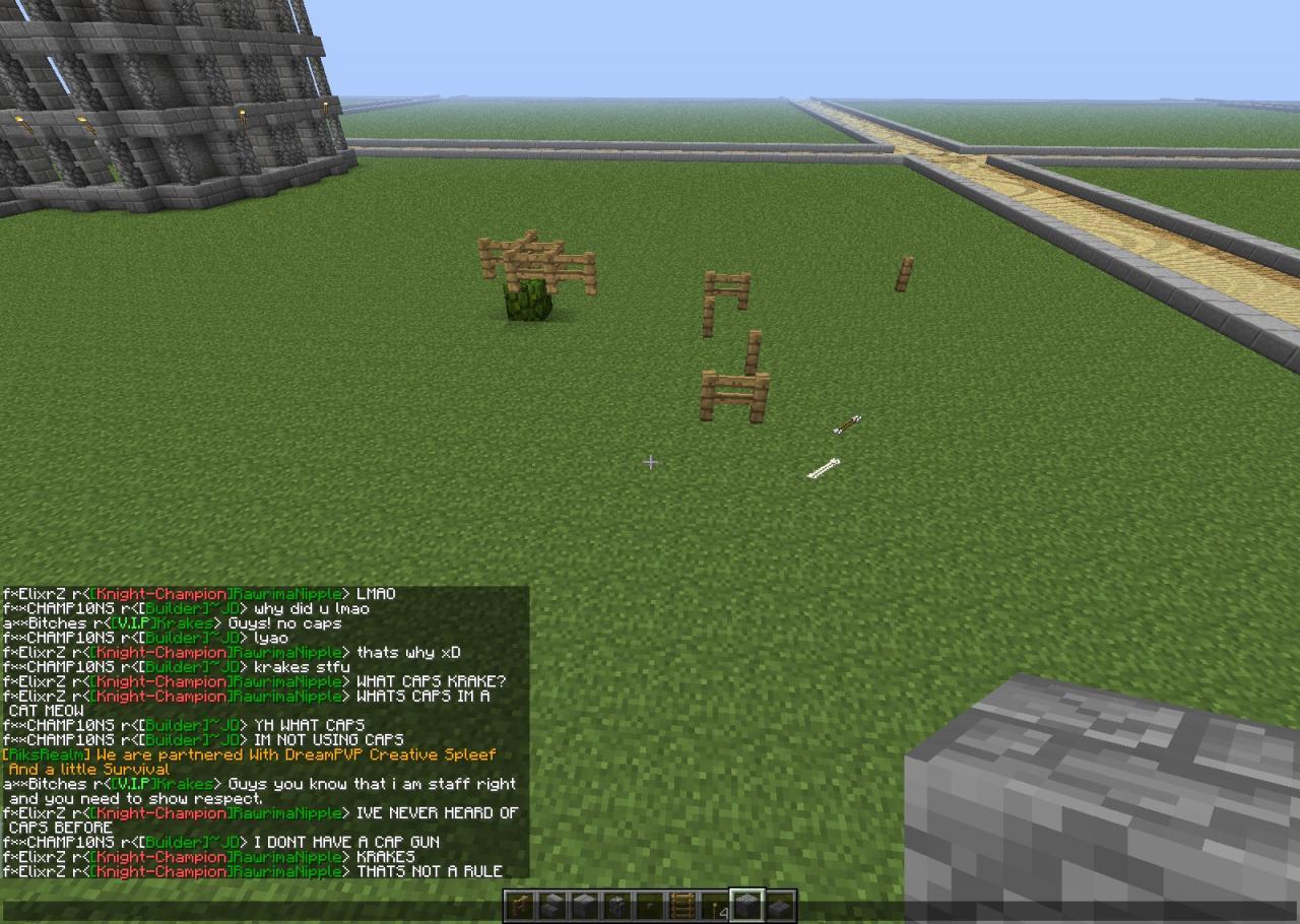 new mc server