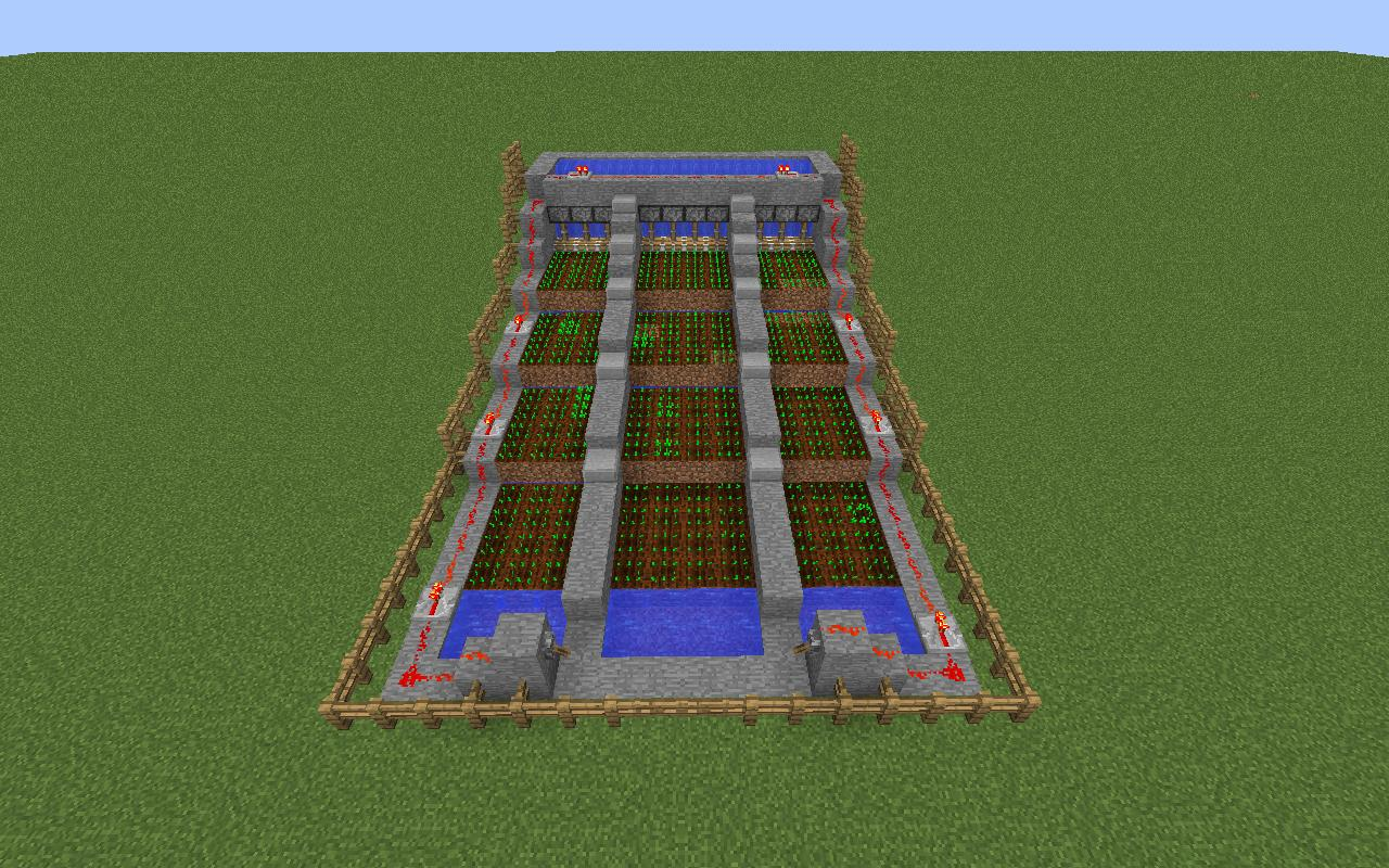 Minecraft Auto Potato Farmer Minecraft Project