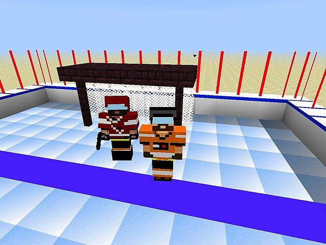 ice hockey   nhl craft   minecraft texture pack