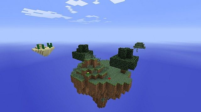 Le_Mister's SkyBlock Map 2 (Adventure Map) Minecraft Project
