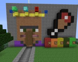 Hungry Hungry Villager Minecraft Map & Project