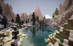 Aegir's Landing (New nordic / snow region) Minecraft Project