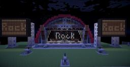 Rock Stage Minecraft Project
