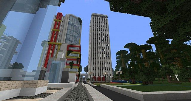 Strongberg Apartments Minecraft Project