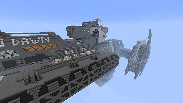 Forward Unto Dawn Minecraft Project