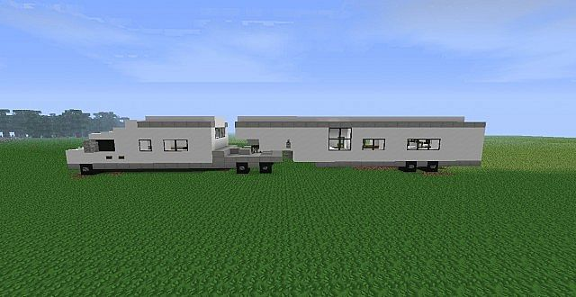 motorcross trailer  camper minecraft project
