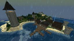 [1.6.2] My Kingdom: Castle, Village and Evil Fortress Minecraft Map & Project
