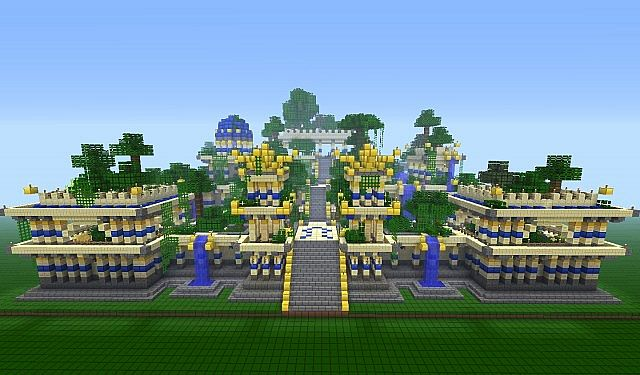 The Hanging Gardens Of Babylon Minecraft Project