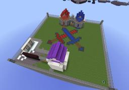 Hour-Glassed - Team Destroy the monument map Minecraft Map & Project